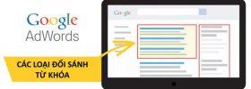Các loại đối sánh từ khóa trong Google AdWords