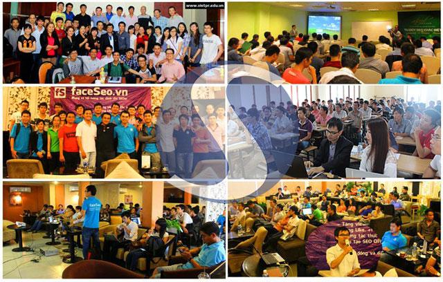 Hoạt động đào tạo SEO cùng cộng đồng của Linh Nguyễn