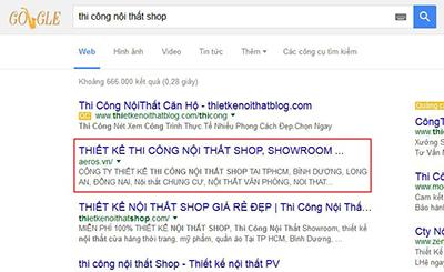 Anh Hùng đã SEO top từ THIETKENOITHATSHOP