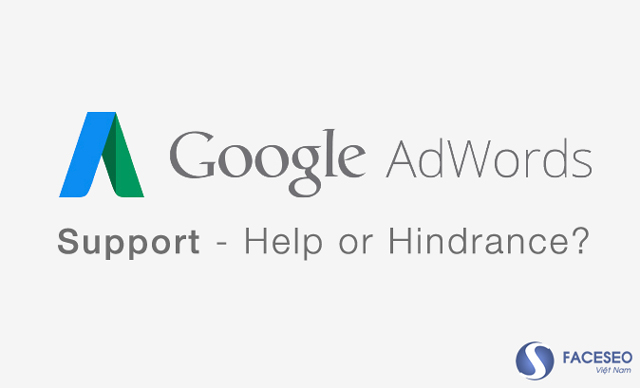 Liên hệ hỗ trợ từ Google AdWords