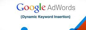 Chèn từ khóa tự động trong Google AdWords