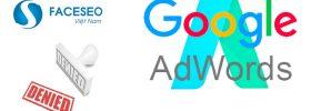 Khắc phục quảng cáo AdWords bị từ chối