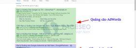 Quảng cáo AdWords và Kết quả tìm kiếm
