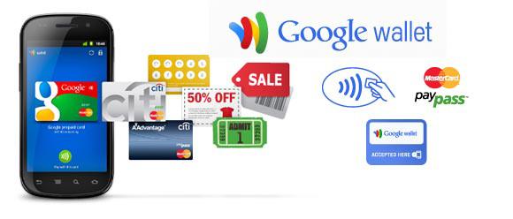 Sản phẩm Google Wallet