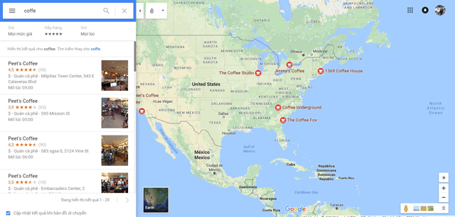 Hiển thị quảng cáo trên Google Maps